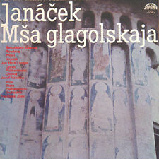 JANACEK Msa Glagolskaja Glagolitic Mass Tcheque Press Supraphon 11122698 1980 LP