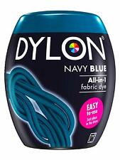 DYLON Machine Dye Pod 350g Colours Navy Blue Wash Clothes