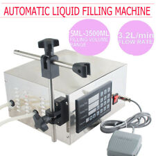 110V LT130 Digital Liquid Filling Machine Microcomputer Control 5~3500ml Pack US