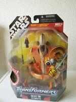 STAR WARS TRANSFORMERS SAESEE TIIN STARFIGHTER, MOSC 2007