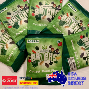 Woolworths Bricks Collectables Packs, Choose what you need & Build a supermarket