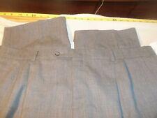 Joseph & Feiss international pleated no cuffs no fabric tag 44 x 29 #134