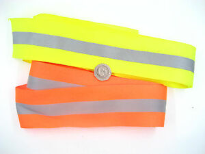 fluorescence Tape Hi Viz Reflective ribbon bike jacket night safety use tape