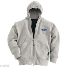 NEW FORD MOTOR COMPANY YOUTH 6-8 YEAR OLD SMALL THERMAL LINED SWEATSHIRT HOODIE!
