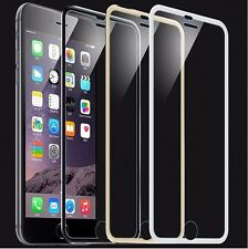 Glass Tempered protector screen 3D edges colours for iphone 7 6 6s Plus