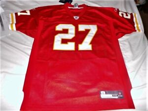 Reebok Kansas City KC Chiefs Larry Johnson LJ authentic jersey size 50 NWT NEW