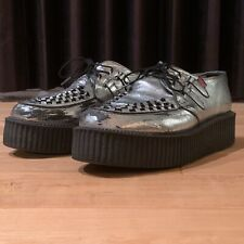 T.U.K. - SILVER Creepers - Men's 10 / Women's 12