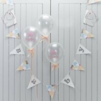 BABY BUNTING - LITTLE ONE - Baby Shower, 1st Birthday, Party Decoration, Banner