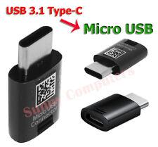 Samsung Original Micro USB 5-pin to 3.1 Type-C Converter Adapter Plug Connector