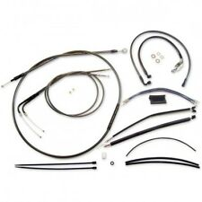 Control cable kit dyna cromo negro - Magnum 487181