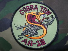 US ARMY AVIATION~BELL AH-1S COBRA TOW~BREAST PATCH~~A.L.A.T.-
