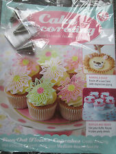 Deagostini Cake Decorating Magazine ISSUE 85 WITH OPEN STAR RUFFLE ROUND NOZZLES