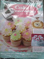 Deagostini Cake Decorating Magazine ISSUE 85 WITH OPEN STAR RUFFLE ROUND NOZZLES