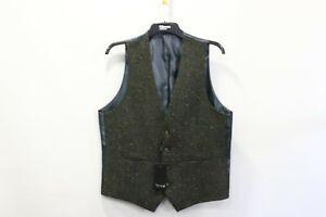 Torre grey tweed waistcoat - 40r