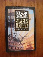 Bernard Cornwell - Sharpe's Trafalgar Fine 2001 HC 1st American Ed w/DJ