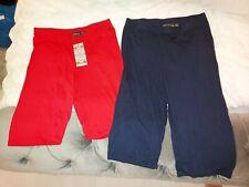 Pretty Little Thing Plt Boohoo Cycli 00006000 ng Shorts X2 Size 12 red navy blue