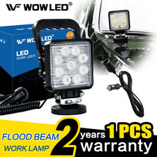 Magnetic Base 27W LED Work Light Offroad Floodlight Truck Jeep + Extension Cable