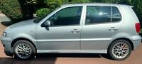 VW Polo GTI. 1.6ltr. Silver with black heated leather. ULEZ charge exempt.