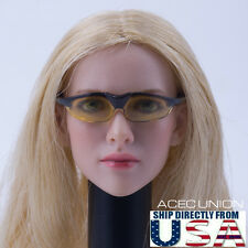 "1/6 Scale Sunglasses For 12"" Hot Toys PHICEN Female Head Sculpt Figure U.S.A."
