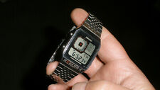 Vintage Seiko Digital Quartz Bond Watch Original G757-4000 New Battery Working!