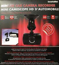 Securityman - CARCAM-SDE - Mini 1080 Full HD Car Camera Recorder Impact Sensing