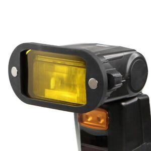Selens Magnetic Honeycomb Grid Spot Filter Kit For Nikon Canon Flash Speedlite