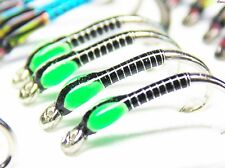 3 X Black buzzer with killer green cheek size 12 buzzers Trout Flies never fails