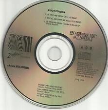 Blood Sweat & tears RANDY BERNSEN Be Still and Know EDIT& EXTEND PROMO CD single