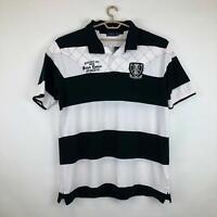 $135 Polo Ralph Lauren Short Sleeve Mesh Shirt Mens 2XLT White Black NEW