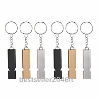 Equipment Hiking Outdoor Whistle Teamsport Silver Tool Iron Rescue Whistle N3