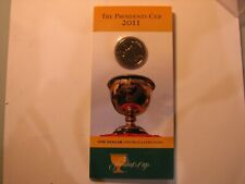 2011 The Presidents Cup RAM Carded $1 Coin.
