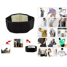 Magnetic Back Support  20 Pain Relief Magnets  Lower Lumbar Brace Belt Strap A