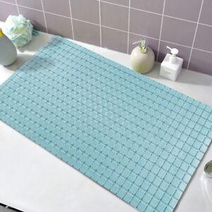 PVC Non Skid Durable Bathtub Rug with Suction CupsHome Shower Room Bath Tub Mat