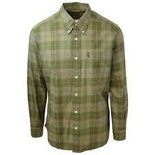 Beretta Men's Green Plaid L/S Woven Shirt (Retail $75)