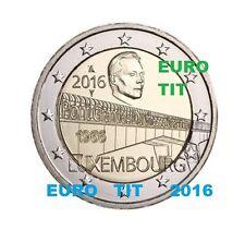 2 €   LUXEMBOURG   1   X   PIECE    NEUVE         NOUVEAU  2016      disponible
