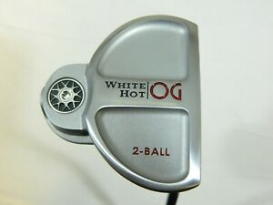 "2021 RH Odyssey White Hot OG Number 2Ball 2-Ball 35"" Putter - Odyssey Grip + H/C"