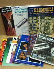 Lot/10 Harmonica Instruction Books Classic Blues Harp Theory Classics Beginners+