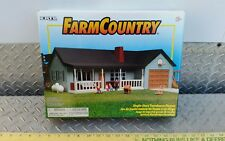Sealed 1/64 Ertl Farm Country blue ranch house home playSet building s scale