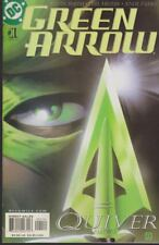 Green Arrow quiver #1 dc comic de abril de 2001 inglés