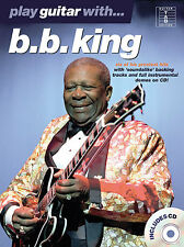 Play Guitar With B.B. King Sheet Music Book TAB CD NEW