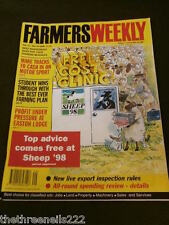 FARMERS WEEKLY - NEW LIVE EXPORT INSPECTION RULES - JULY 17 1998