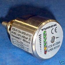 TURCK 24VDC 1...300CM/S FLOW SENSOR FCS-N1/2A4-AP8X-H1141