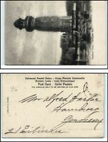 Indien India Vintage Postcard ~1910 Elephant Tower in Futtehpore Sikri alte AK