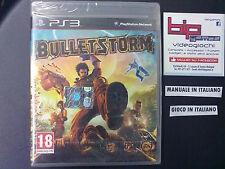 BULLETSTORM PS3 PLAYSTATION 3 PAL NUOVO SIGILLATO