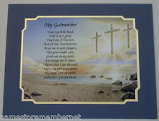 MY GODMOTHER Personalized Poem GIFT  The PERFECT Gift for ANY Occasion..