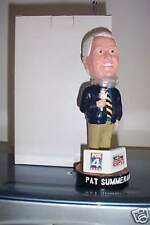 Pat Summerall LEGENDARY ANNOUNCER Fort Worth Cats 2007 Bobble Bobblehead SGA