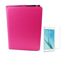 2in1 Set Tasche pink + Glasfolie für Samsung Galaxy Tab 4 8.0 T335 Etui Case