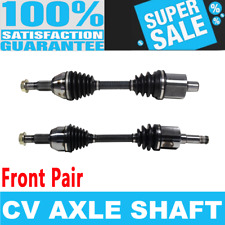 Front 2x CV Joint Axle Shaft for CHEVROLET EQUINOX 05-06