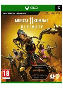 Mortal Kombat 11: Ultimate (Xbox One) New & Sealed Free UK P&P