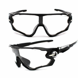 Sunglasses clear Night Bike Cycling Aero Helmet Sun Glasses night tri mtb black